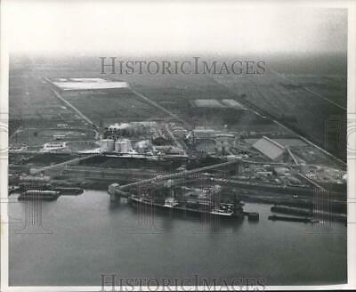 1967 Press Photo Aerial view of the Ormet Chemical Company - noc02660