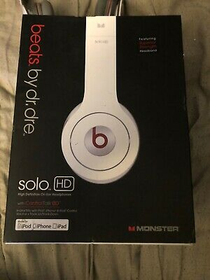 Beats Solo HD Headphones by Dr. Dre - White WIRED