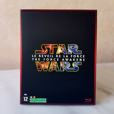 BLU-RAY STAR WARS THE FORCE AWAKENS Le Réveil de la Force - édition 2 disques PE