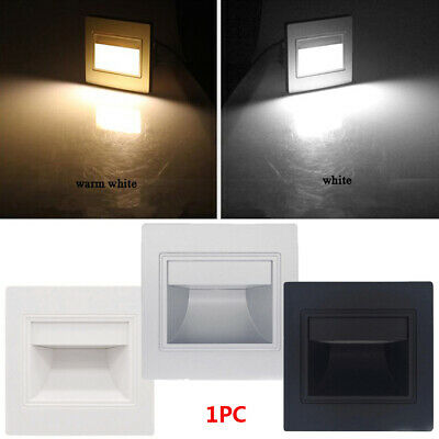 LED Footlight Pathway Path Stair Step Wall Light Modern Indoor Decor lamp 1.5W