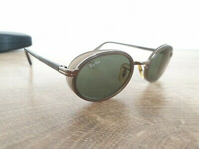 Vintage B&L Ray-Ban W2813 Oval Sunglasses Assembled in Ireland RARE