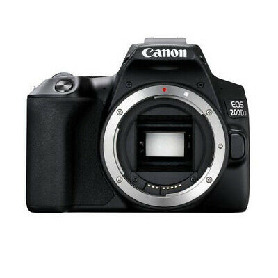 Canon EOS 200D II Black Body Only (Multi Language) Stock from EU