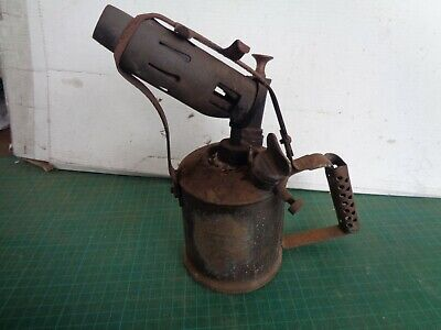 Vintage blow torch COMPANION  brand, for heating or soldering, brass, Australia