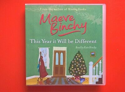 Maeve Binchy CD Audio Book  -This Year it will be Different - Unabridged 5cd