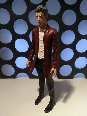 "TWELFTH DOCTOR WHO 12th DR FACE THE RAVEN RED JACKET EXCLUSIVE UK 5"" FIGURE"