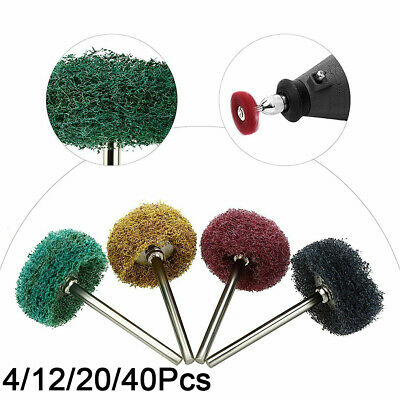 """1"""" 25mm Scouring Pad for Rotary Tools  Brush  Polishing Abrasive Wheel  Buffing"""