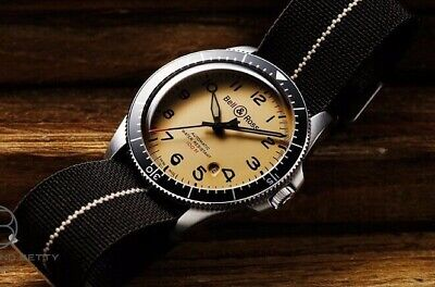 Bell&ross BRV2-92 Militaire Beige BRV292-BEI-ST/Sf Automatique Cal.302