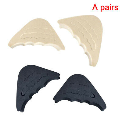 1 Pair Adjustment Soft Shoes Filler Pain Relief Toe Plug Rubber Forefoot Insert