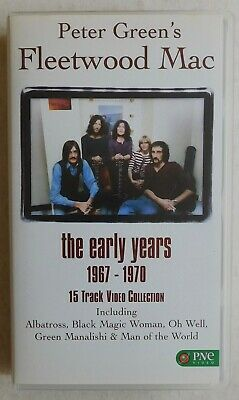 PETER GREEN'S FLEETWOOD MAC : THE EARLY YEARS - VHS Video (1995)