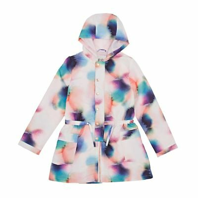 French Connection FCUK Soft Spray Mac Jacket Girls Orchard Ice age 14-15 yrs *19