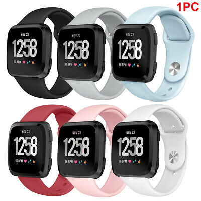 Silicone Sport Band Replacement Bracelet Strap for FitBit Versa Lite Smart Watch
