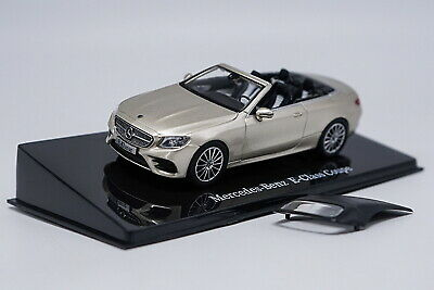 1/43 Mercedes-Benz E-Class Coupe Cabriolet Gold Diecast Car Model Collection