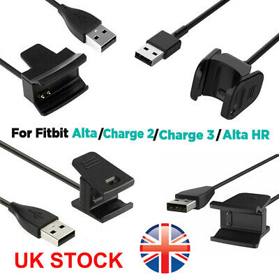 USB Charger Charging Cable Lead for Fitbit Alta HR Charge 2 3 Wristband Activity