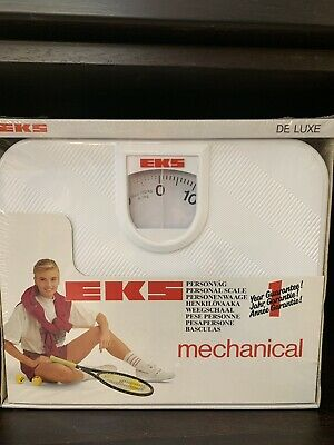 EKS  Mechanical Bathroom Scales - Classic Rotating Dial DE LUXE