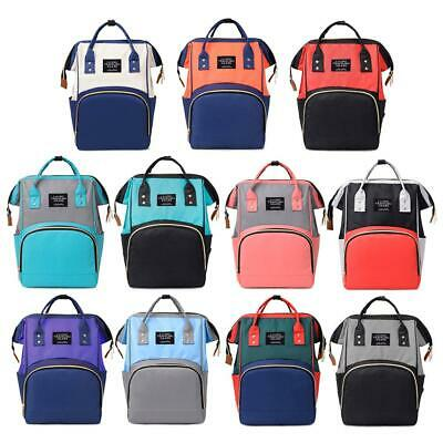 Hit Color Mummy Backpack Baby Diaper Nappy Backpack Multifunctional Mommy Bag