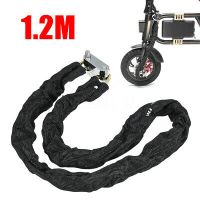 U Lock Bicycle Bike Motorcycle Cycling Scooter Security Steel Chain with2KeODUS