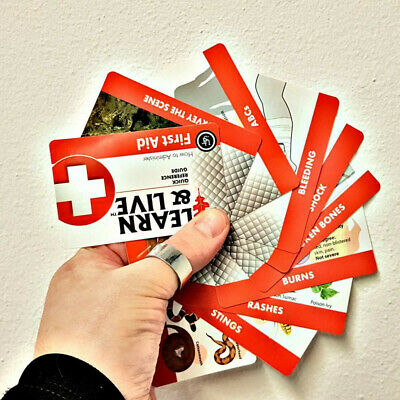UST Learn And Live Educational First Aid cards
