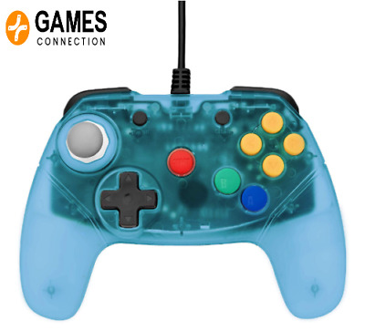 Brawler 64 Blue Controller - Retro Fighters N64 Nintendo 64  Official Stockists