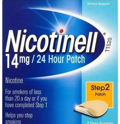 Nicotinell TTS20 14mg/24 Hour Patch Step 2, 7 Day Supply
