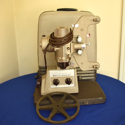 Bell & Howell 8mm Movie Film Projector Design 122LR with Case