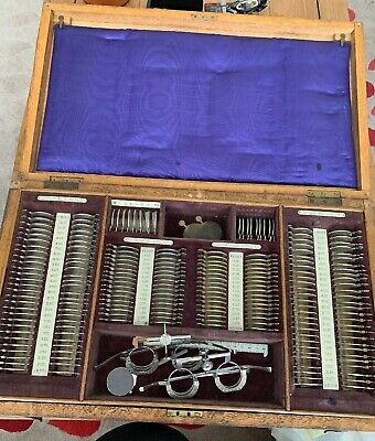 Optical Trial Lenses Testing Kit - Army Spectacle Depo - Vintage