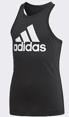 adidas Performance Essentials Performance Logo Tank Top UK Size 9-10 Year