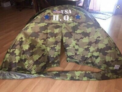 Twin Bed Camoflauge Tent