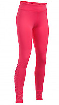 Under Armour Girls Favourite Knit Graphic Leggings Pink Size YMD 9-10 Yrs *REF60