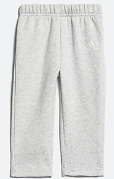 Adidas Junior Girls Grey Tracksuit Bottoms Joggers Size 3-4 Years *REF32