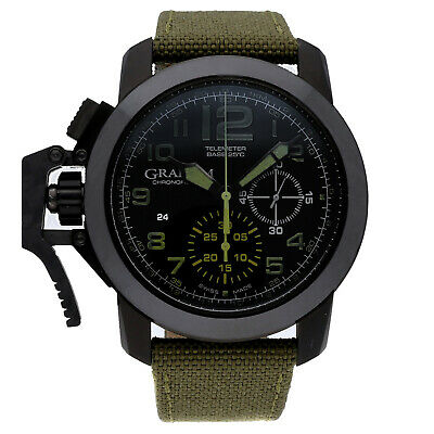 Graham Chronofighter Oversize Chronograph Steel Auto 47mm Mens 2CCAU.G01A.T15
