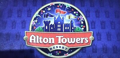 FRIDAY 4th OCTOBER 4 X Alton Towers Theme Park Full Free Entry Card Tickets