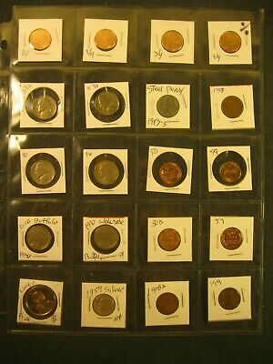 20 Mixed Coins Has Silver Dime & Proof Dollar, Old Buffalo Nickels & More