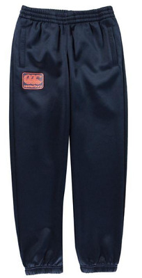 Canterbury Fleece Tapered Tracksuit Bottoms Joggers Navy uk size 11-12 boys *6