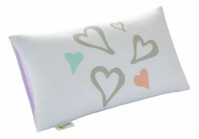 Greenbuds - Organic Cotton Toddler Pillow Cover Abstract Affection 12 in. x 20