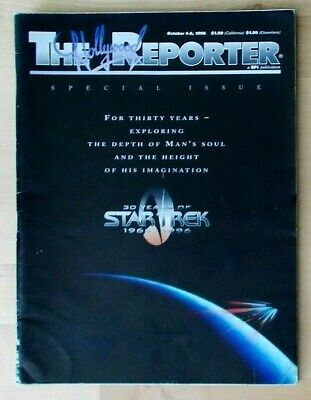 30 Years of Star Trek 1966-1996 The Hollywood Reporter Magazine Special Issue