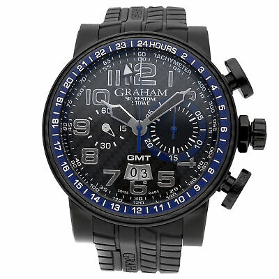 Graham Silverstone Stowe GMT Limited Edition Steel Auto 48mm 2BLCB.B30A.K47N
