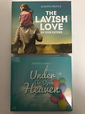 Under An Open Heaven The Lavish Love Of Our Father 2 AUDIO BOOK CD Lot. Prince