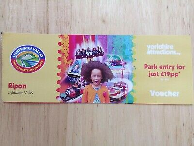 Lightwater Valley Voucher