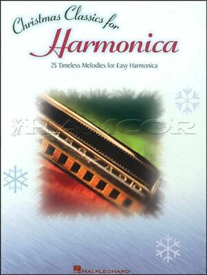 Christmas Classics for Harmonica Sheet Music Book Religious SAME DAY DISPATCH