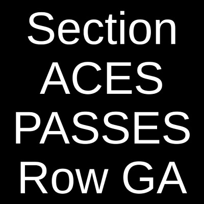 4 Tickets US Open Tennis Championship: Session 19 - Men's/Women's 9/4/19