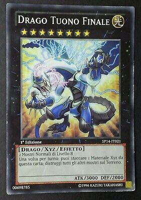 DRAGO TUONO FINALE Comune in Italiano SP14-IT021 ( VG ) YUGIOH