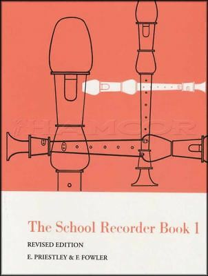 The School Recorder Book 1 Sheet Music Learn How To Play Method Revised Edition