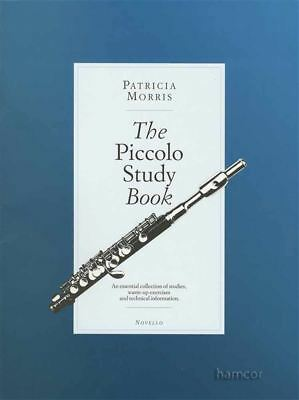 The Piccolo Study Book Sheet Music Book by Patricia Morris Studies Warm-Ups