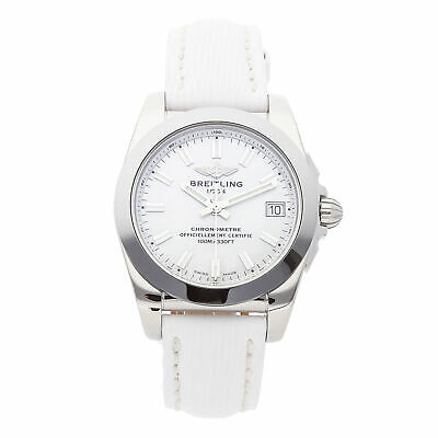 Breitling Galactic 36 Sleek T Steel Quartz 36mm Ladies Watch W7433012/A779