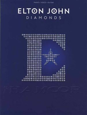 Elton John Diamonds Piano Vocal Guitar Sheet Music Book Greatest Hits Best Of