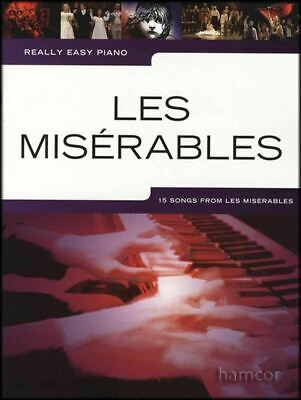 Really Easy Piano Les Miserables Sheet Music Book