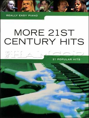 Really Easy Piano More 21st Century Hits Music Book Adele Coldplay Take That