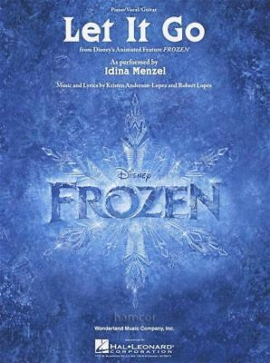 Let It Go Piano Vocal Guitar Sheet Music from Disney's Frozen
