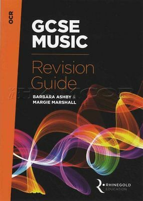 GCSE Music Revision Guide OCR from 2016 Exam Theory Book Barbara Ashby
