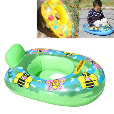 Baby Float Swimming Ring Toddler Childs Inflatable Rubber Swim Ring Boat Seat AU